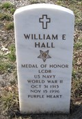 Image for LCDR William E. Hall USN -- Ft. Leavenworth National Cemetery, Leavenworth KS
