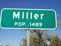 Image for Miller, South Dakota - Population 1489
