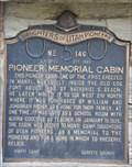 Image for Pioneer Memorial Cabin ~ 146