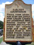 Image for Earliest Courthouse - Lincoln, NM