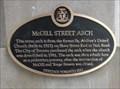 Image for McGill Street Arch - Toronto, Ontario