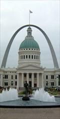 Image for Olympic Runner Fountain - Kiener Plaza  - St. Louis, Missouri