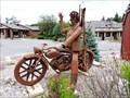 Image for Metal Biker Ski Dude - Red Lodge, MT