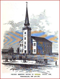 The Second Rindge Meeting House.