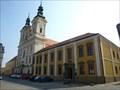 Image for Jezuitská kolej s kostelem sv. Františka Xaverského, Uherské Hradište, CZ