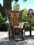 Image for Ceramic Tile Artistic Seat - Albuquerque, New Mexico
