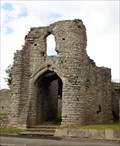Image for Barry Castle - Barry Town, Vale of Glamorgan, Wales.