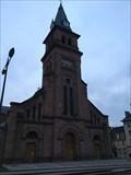 Image for Il pleut dans l'église Saint-Martin - Saint dié des vosges - France