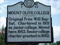 Image for Mount Olive College  -  F-43