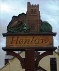 Image for Village Sign, Henlow, Beds, UK
