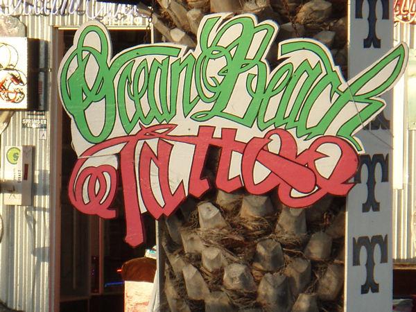 Ocean Beach Tattoo - San Diego, CA - Tattoo Shops/Parlors on Waymarking.com