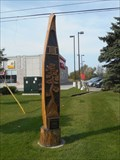 Image for Orangeville Tree Sculptures: The Jack Pine Canoe
