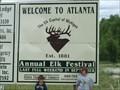 Image for The Elk Capital of Michgan - Atlanta, Michigan