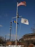 Image for Burlington Township Municipal Center Nautical Flag Pole - Burlington Twp. NJ