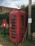 Image for Red Telephone Box -  Holloway Lane, Turville, Buckinghamshire, UK