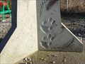 Image for Monumental Milestone 8 Footprints - Little Lever, UK
