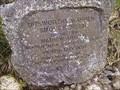 Image for Plaque, Ditsworthy Weir, South Dartmoor.