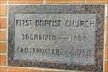 Image for 1960 - First Baptist Church - Missoula, MT
