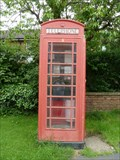 Image for Red Telephone Box - West End - Long Clawson, Leicestershire