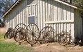 Image for Pioneer Village Blacksmith Shop Wagon Wheels