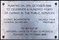 Image for National Union of Public Employees - 100 years - Tavistock Square, London, UK