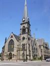 Woodward Avenue (M-1) - Central United Methodist Church - Detroit, Michigan.