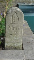 Image for Rochdale Canal Original Mile 10 Milepost – Todmorden, UK