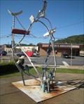 Image for Flood Museum Sculpture, Johnstown, Pennsylvania, USA