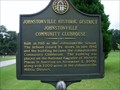 Image for Johnstonville Historic District - Johnstonville Community Clubhouse~GHM~(no number)~Lamar County