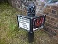 Image for Worcester and Birmingham Canal Milepost - Edgbaston, Birmingham, UK.