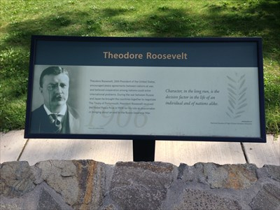 Theodore Roosevelt in the Nobel Peace Park, Eugene, Oregon