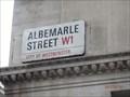 Image for Albemarle Street – Mayfair, London, U.K.