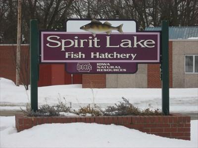 Spirit lake fish hatchery spirit lake ia fish for Iowa fish hatcheries