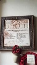 Image for Memorial Tablet - St Edmund - Fenny Bentley, Derbyshire