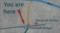 """Image for Patricroft """"You Are Here"""" Map on Bridgewater Way - Monton, UK"""