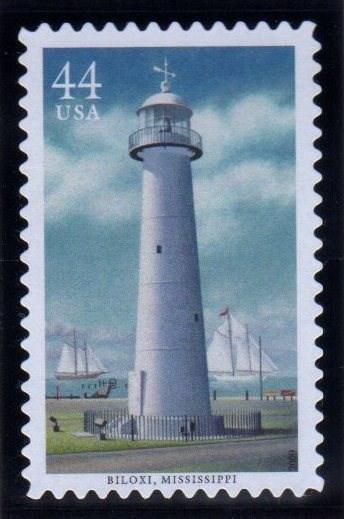 Biloxi Lighthouse Mississippi Philatelic Photographs On Waymarking Com