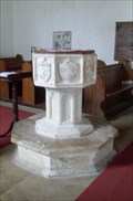 Image for Font - St Mary's Church, Monewden, Suffolk, IP13 7DA