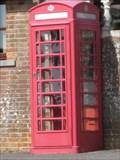 Image for Red Telephone Box - Sammy Miller Museum, Bashley Cross Roads, New Milton, Hampshire, UK