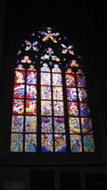 Image for St. Vitus Stained Glass Windows, Prague, Czech Republic