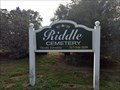 Image for RiddleCemetery Oceola Twp Livingston County Mi.