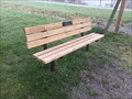 Image for Louise Behrens & Lyn Poole Bench - Waterford, ON