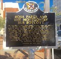 Image for Rosa Parks and the Montgomery Bus Boycott - Montgomery, AL