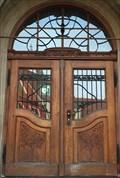"""Image for Doorway of the former """"Städtisches Mädchenlyzeum"""" , Regensburg - Bavaria / Germany"""