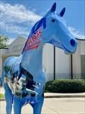 Image for Patriot Pride fiberglass horse - College of Central Florida  - Ocala, Florida
