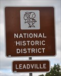 Image for Leadville National Historic District