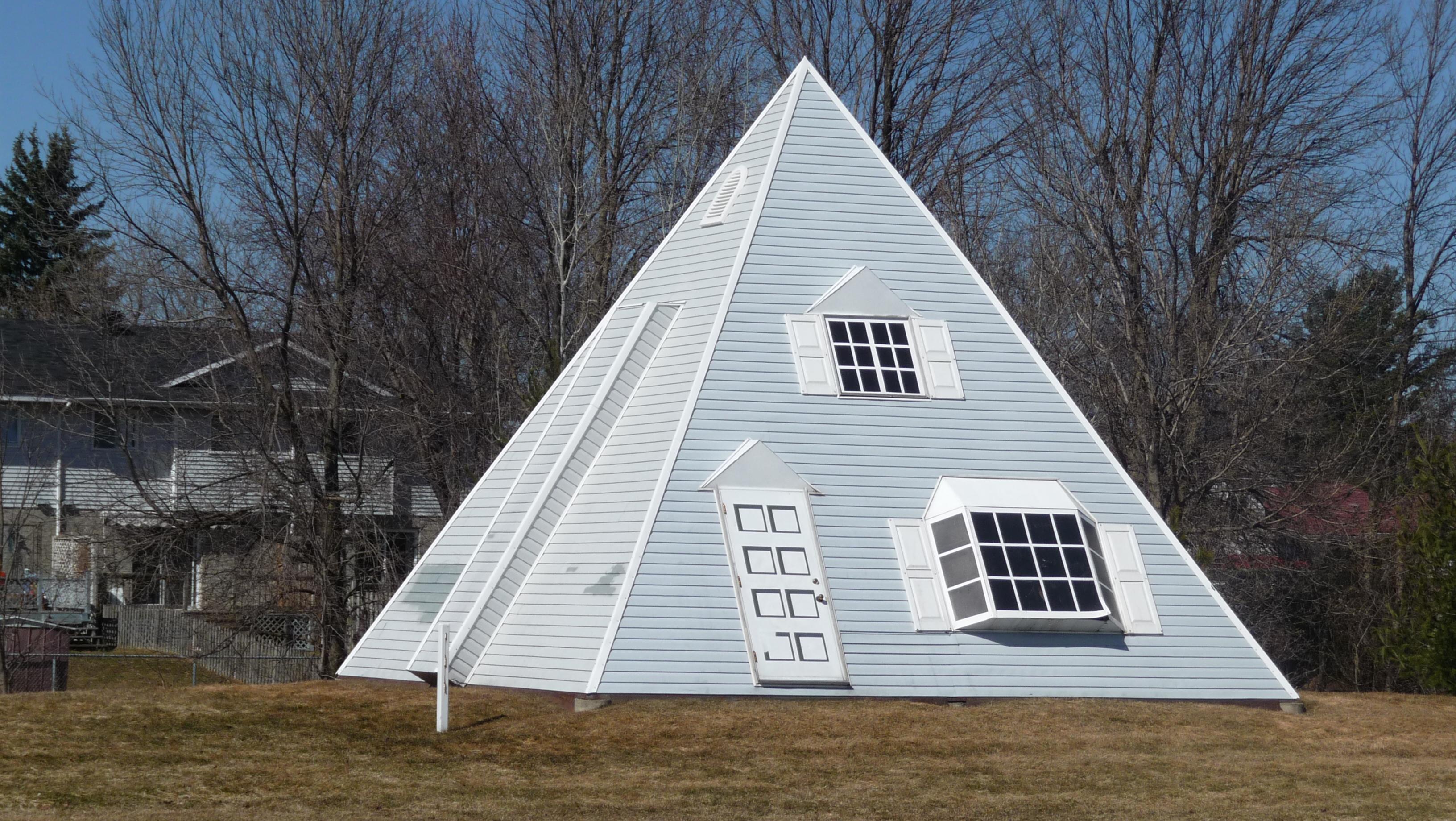 Pyramid House Cornwall Ontario Canada Image