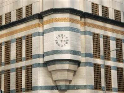 HSBC Bank Clock, Downtown Los Angeles, CA - Town Clocks on