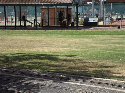 A more distant view, showing some of the Miniature Railway, that goes around some the complex. 28/2/2016