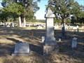 Image for Jacob S. Montgomery - Coker Cemetery - Bulcher, TX