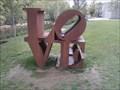 """Image for Robert Indiana's """"Love"""" Sculpture - Bentonville AR"""